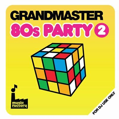 MASTERMIX MUSIC FACTORY Mastermix Grandmaster 80s Party II DJ CD Eighties  Vol 2