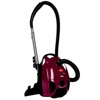 BISSELL Bagged Canister Best Vacuum Cleaner Floors Upholstery Carpet Dust New US