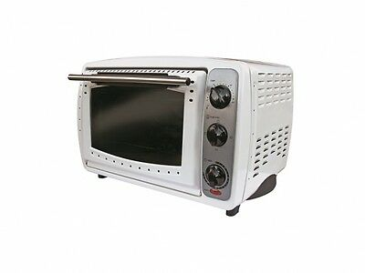 PORTABLE MINI ELECTRIC OVEN cooker camping caravan bedsit office tent Forno