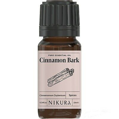 10ml CINNAMON (BARK) ESSENTIAL OIL - 100% Pure and Natural (Aromatherapy)