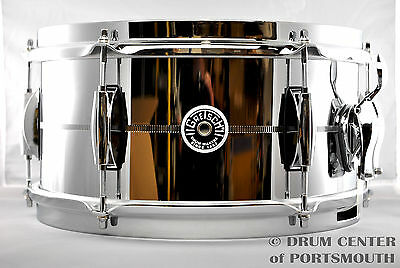 Gretsch Brooklyn Steel Snare Drum 6x12 - GB4162S