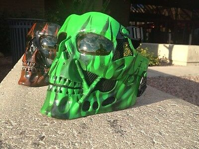 Harley Davidson Riding Mask Terminator Skullriders Goggle Sunglasses Transition