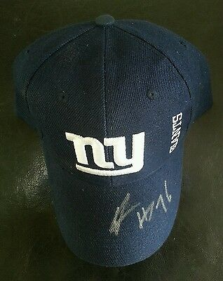Ereck Flowers Signed New York Giants Hat w/ COA