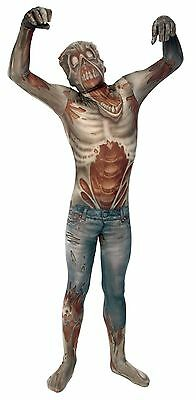 Halloween LifeSize MORPH ALIEN MONSTER ZOMBIE WARRIOR ADULT MEN Large Costume