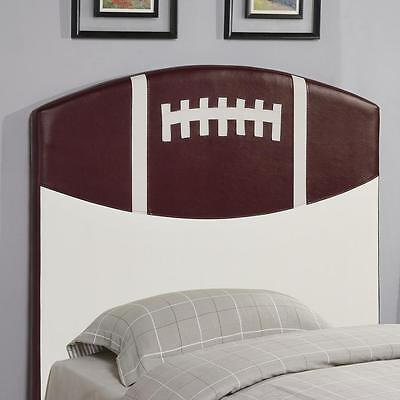 Youth Football Upholstered Sports Twin Headboard by Coaster 460169
