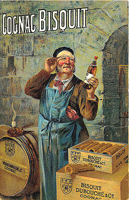 Cognac Bisquit Dubouche & Co. Advertising French Postcard