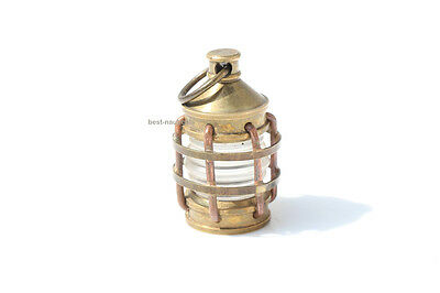 Solid Brass Necklace Style Ship Lamp