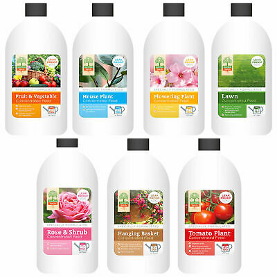 Plant Food - Various Types - Multi Listing - 500ml / 150L Concentrate