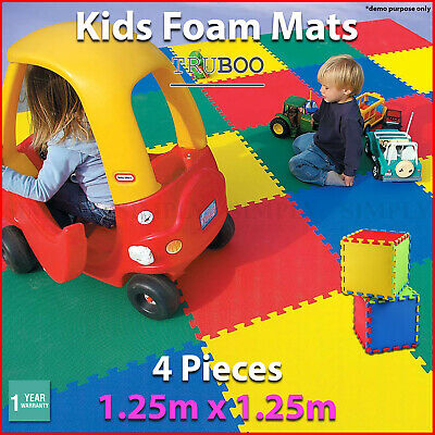 Kids Foam Play Mats Floor Baby EVA Mat Interlocking Tile Playmat Puzzle Children