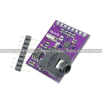 Breakout Board Si4703 FM RDS Tuner For AVR ARM PIC Arduino Compatible HOT UK