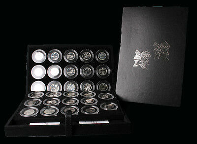 United Kingdom 2011 Royal Mint 2012 London Olympic 50 Pence 29 Silver Coin SET