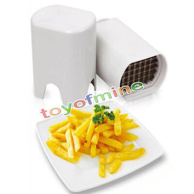 Easy Chip Cutter Chipper French Fry Potato Chopper Makes Perfect Fries Chips Dp