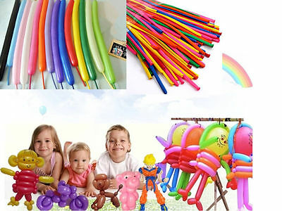 2016 100pcs X New Balloons Different Colours Latex 260Q Traditional Modelling