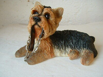 Yorkie Yorkshire Terrier lead  dogs  13cm The Leonardo collection, Dog studies.