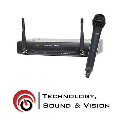 Wireless Mic System - UHF With Handheld Mic 16 Ch