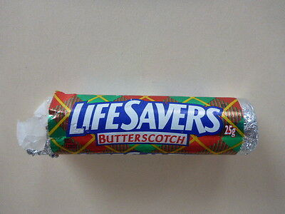 "Vintage Life Savers ""butterscotch"" Candy Roll Opened"