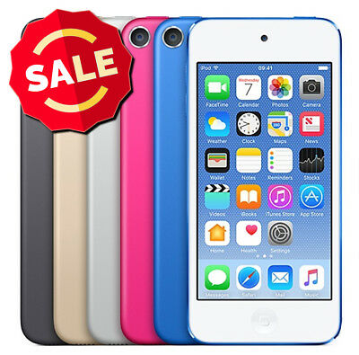 Apple iPod 6th Touch 16GB 32GB 64GB Blue Pink Silver Space Gray Gold New Other