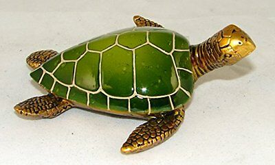"Figurines - Statue - Aquatic Animals Sea Turtle 4"", New, Free Shipping"