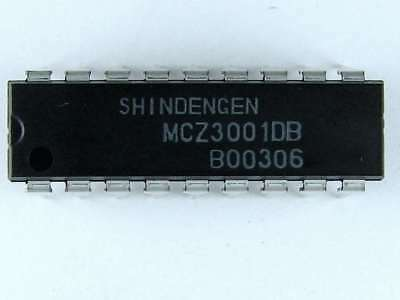 MCZ3001DB - Shindengen Brand Monolithic IC, 18 Pin DIP, Sony# 670581001, New
