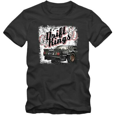 Drift-Kings #1 T-Shirt | Herren | Gymkhana #8 | Ken Block | Fiesta | Hoonigan
