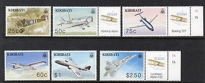 Kiribati MNH 2003 The 100th Anniversary of the Powered Flight