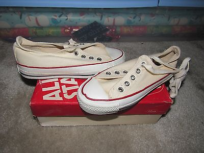 Nib Vintage Converse All Star Chuck Taylor Kids Low 13.5 Made In Usa