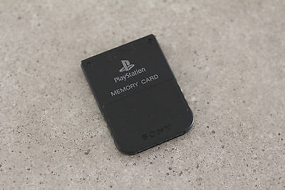 Sony Playstation 1 PS1 Genuine Memory Card (SCPH-1020) Black