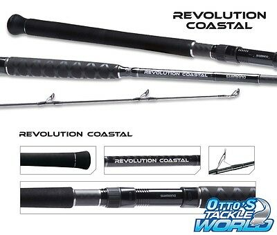 Shimano Revolution Coastal 1302 Spin Rod (13' / 2piece) BRAND NEW at Otto's