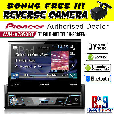 "Pioneer Avh-x7850bt 7"" Fold Out Car Stereo Screen Usb Ipod Android Avhx7850bt"