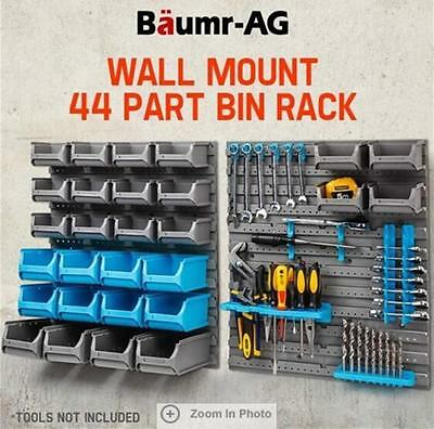 Baumr-AG Wall Mounted Tool Parts Storage Bin Rack Tool mounting accessories