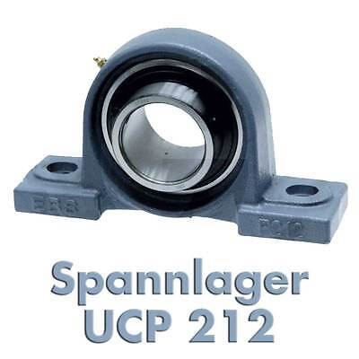 Stehlager Spannlager Lagerbock UCP201-212 12-60 mm Welle