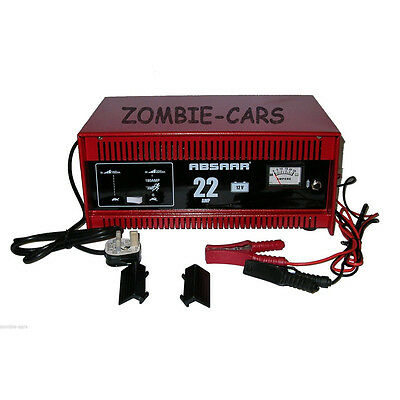 Absaar 22 Amp 12v Automatic Car Battery Charger