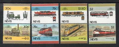 Nevis MNH 1986 Leaders of the World - Railway Locomotives
