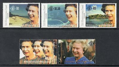 Zil Elwannyen Sesel MNH 1992 The 40th Anniversary of HM The Queen's Accession