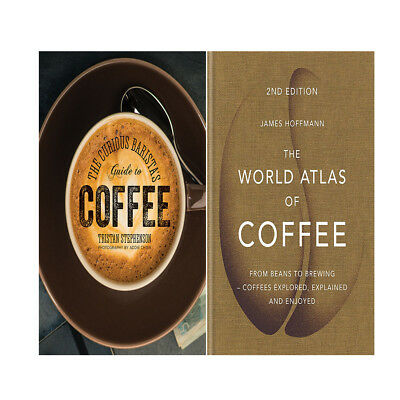 The World Atlas of Coffee,Baristas Guide to Coffee 2 Books Collection Set New