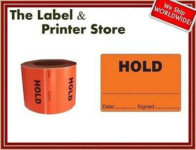1000 Quality Inspection HOLD Labels - QC QI Checked Stickers