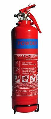 RAC Car and Home Essential Safety Emergency 1kg Fire Extinguisher Dry Powder