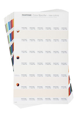 PANTONE FHIP220 Color Specifier Supplement NEW Color Numbering (TPG)