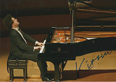 Evgeny Kissin signed 8x12 inch photo autograph