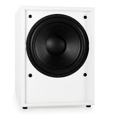 """Hifi Home Cinema Active 10""""  Subwoofer Sound System 250W Rms Frontfire Sub Bass"""