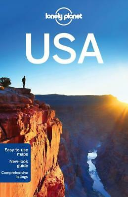 NEW USA By Lonely Planet Paperback Free Shipping