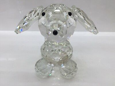 Cute Crystal Dog Figurine Gift Home Decoration Swarovski Look-different Size
