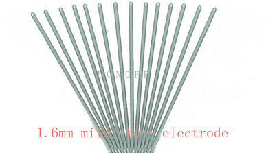 arc welding rods electrodes mild steel E6013 1.6mm,250mm length general purpose