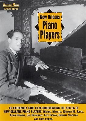 American Music - New Orleans Piano Players