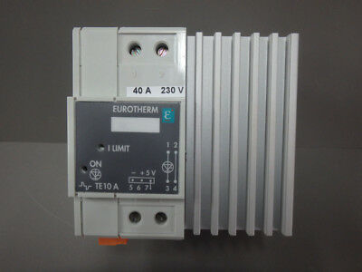 TE10A - EUROTHERM - TE10A / USED THYRISTOR POWER CONTROLLER  4-20mA DC Input
