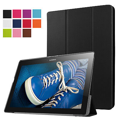 Magnetic Pu Leather Smart Cover Case Stand for 10.1'' Lenovo TAB 2 A10-30 X30F