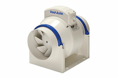 Vent Axia ACM125 In-Line Mixed Flow Extractor Fan Unit