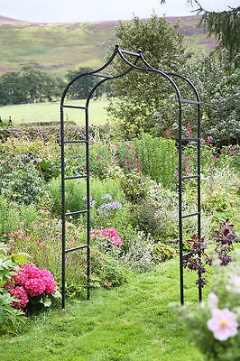 Tom Chambers Baroque Garden Arch Steel Metal Archway 2.4m High