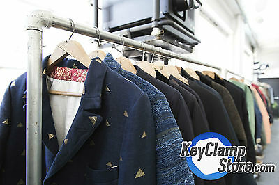 Vintage Clothing Rail Kit - Choose Your Sizes! Reclaimed, Scaffold, Industrial
