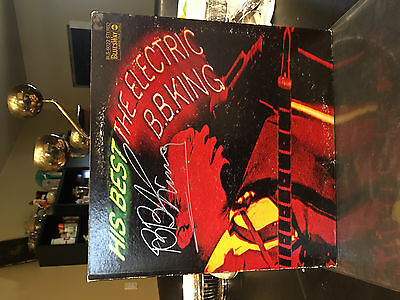 AUTOGRAPHED B.B. King His Best - The Electric BB King Album BLS-6022